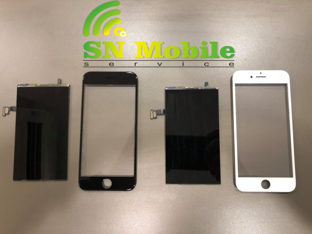 смяна на стъкло на Iphone 8 Plus