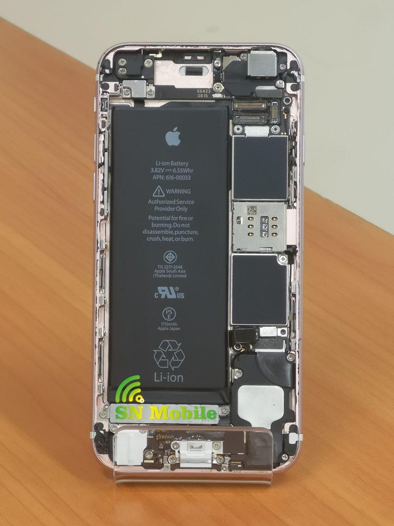 Смяна на батерия на iphone 6s