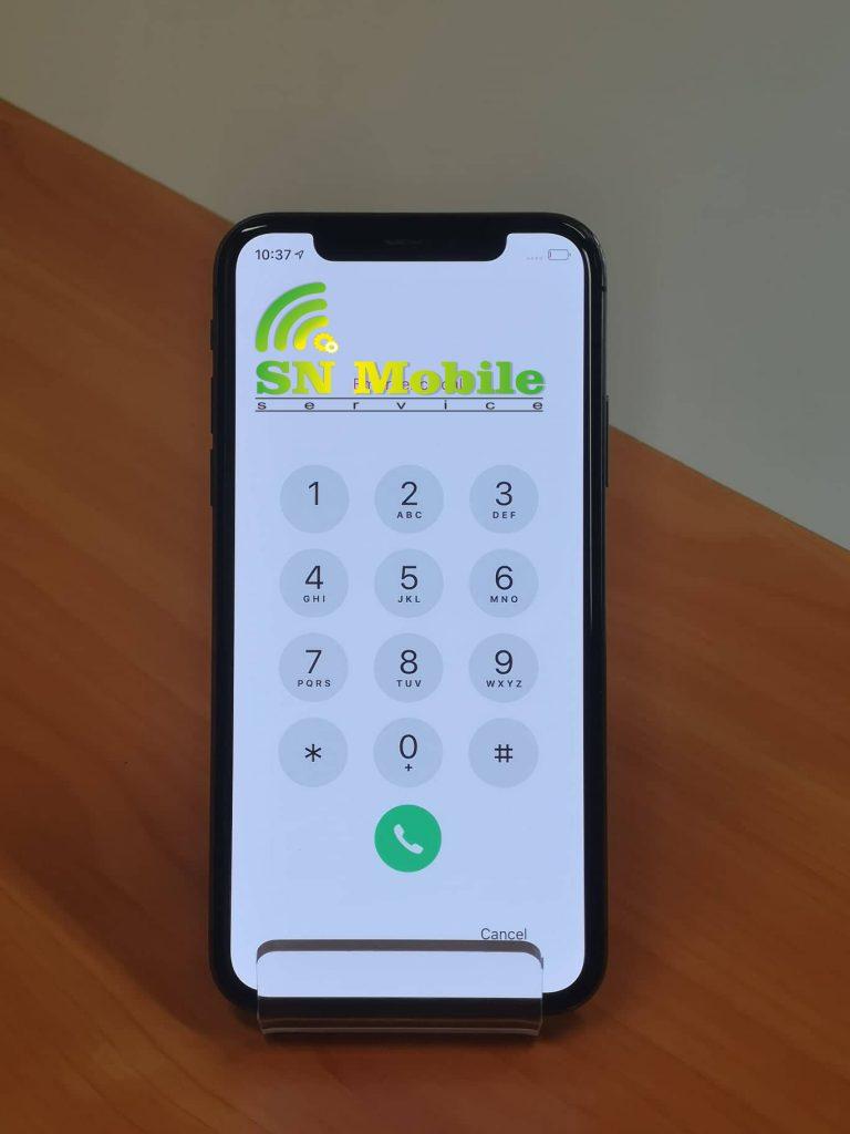 Смяна на стъкло на дисплей на iphone x