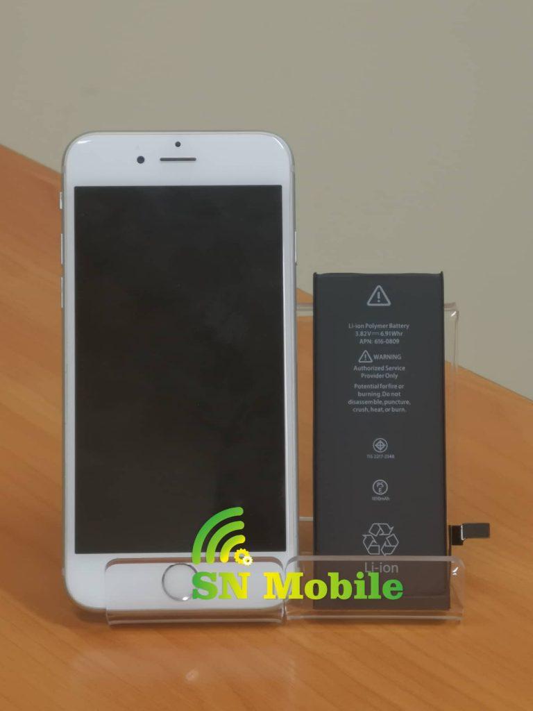 Смяна на батерия на iphone 6